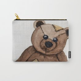 Patches the Teddy Carry-All Pouch
