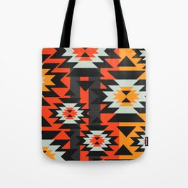 Aztec geometry Tote Bag