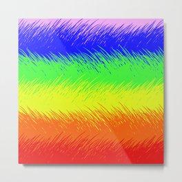 Sketching Rainbows Metal Print