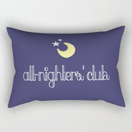 all-nighters' club Rectangular Pillow