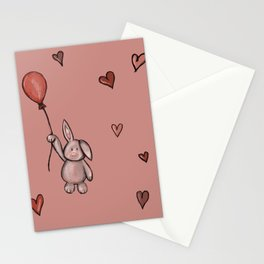 Bunny love Stationery Cards