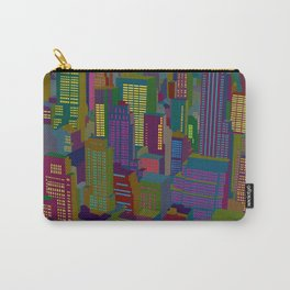 Cityscape night Carry-All Pouch
