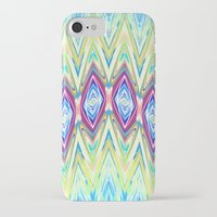 band iPhone & iPod Cases featuring Diamond Band  by Casey