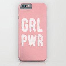 GRL PWR (pink) Slim Case iPhone 6