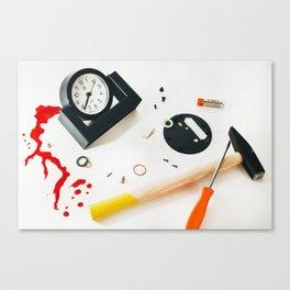 """""""killing time """" Canvas Print"""