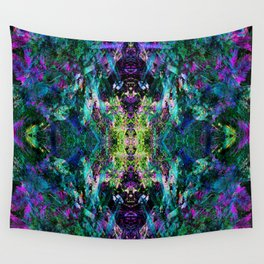 Jungle Eyes Wall Tapestry