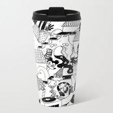 DOODLE WORLD Metal Travel Mug