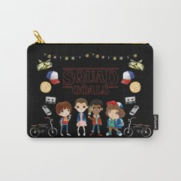 Stranger Squad Goals Carry-All Pouch