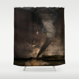 The twister Shower Curtain