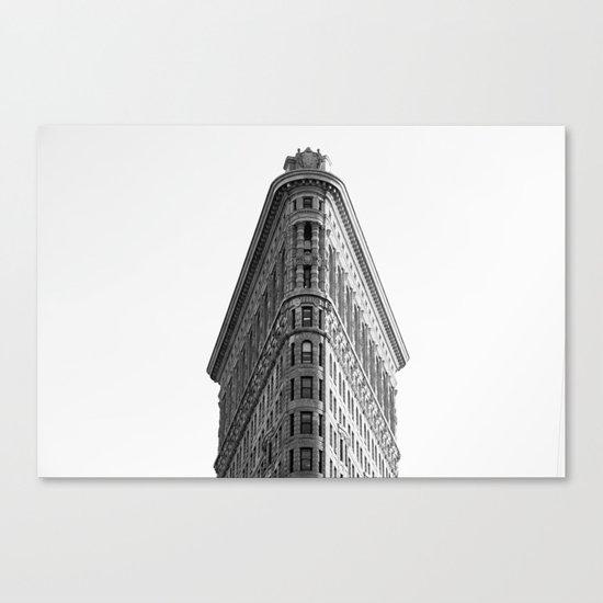 Flatiron Black and White NYC Canvas Print
