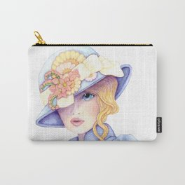 Violet Eyes Carry-All Pouch