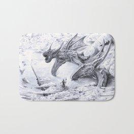 Attack on Titan Dragon Bath Mat