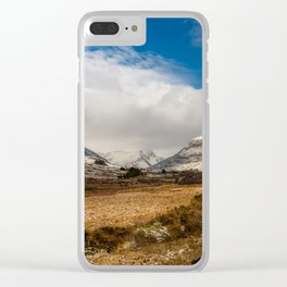 Mountain Highway Snowdonia Clear iPhone Case