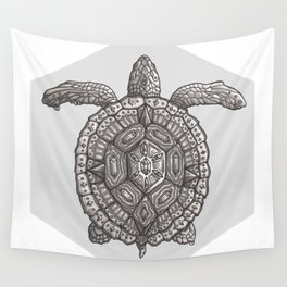 Magic Turtle Wall Tapestry