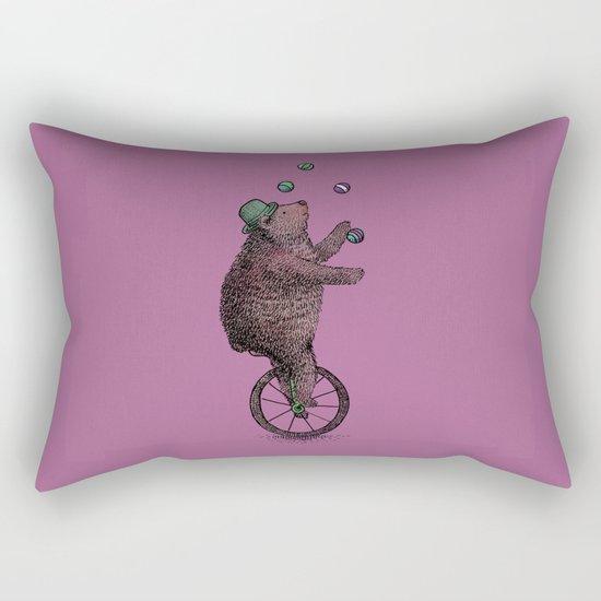 The Juggler Rectangular Pillow