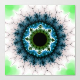 Fractal Eye 2 Canvas Print