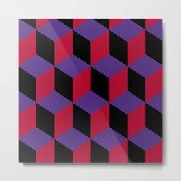 Geometric pattern in 3D Metal Print