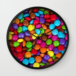 Candy Coated Chocolate Wall Clock