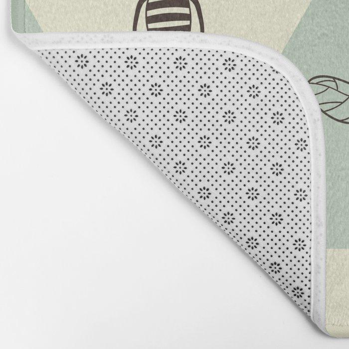 Beehive Bath Mat