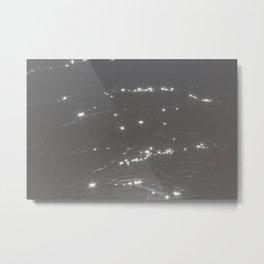 Ocean Lights Metal Print