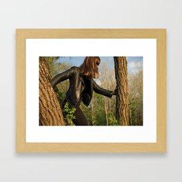 Forest Ninja Framed Art Print