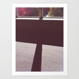 fall window Art Print