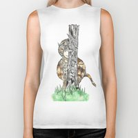 wild things Biker Tanks featuring The Wild Things by Cherry Virginia