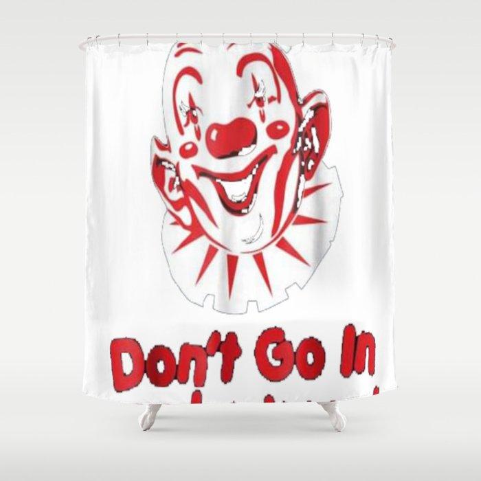 Scary Clown Halloween Creepy Costume Party Shirt Gift Idea Shower Curtain