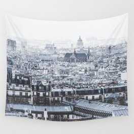 Rooftops - Architecture, Photography Wall Tapestry