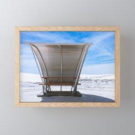 White Sands Shade ll Framed Mini Art Print