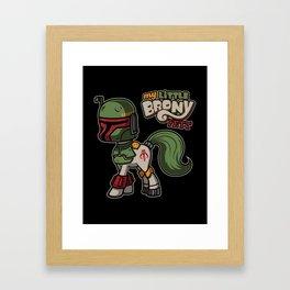 Brony Fett Framed Art Print