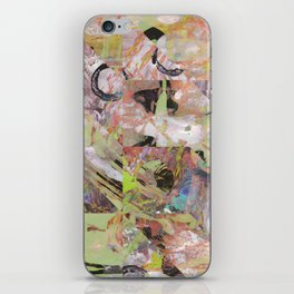 Painting Seems To Help The Pain, Seems To Cultivate The Brain iPhone Skin