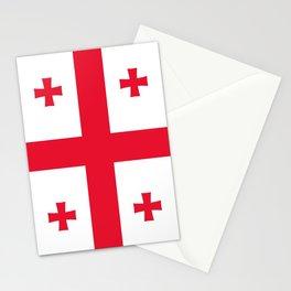 Flag of georgia-Georgia,Sakartvelo, Causasus,georgeian,საქართველო ,Tbilisi,causasus,Georgian,ქართული Stationery Cards