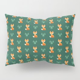Geometric Foxes Pillow Sham