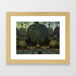 Spora Framed Art Print