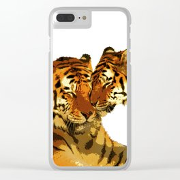 Love Cats Clear iPhone Case