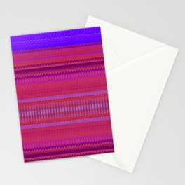 Red & Purple XIII Stationery Cards