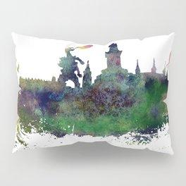 Cracow skyline Pillow Sham