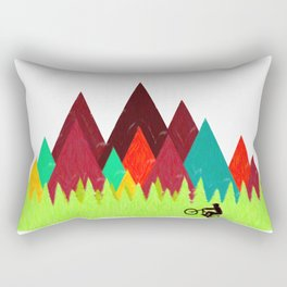 MTB Trails Rectangular Pillow