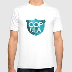 COP ULA MEDIUM Mens Fitted Tee White