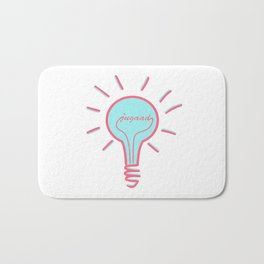 Jugaad - Conquer the World With Creativity, Ideas & Innovation Bath Mat