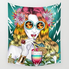 Beach Frenzy Wall Tapestry