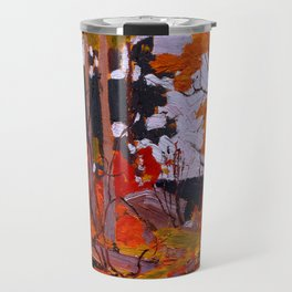 Tom Thomson - Autumn, Algonquin Park - Canada, Canadian Oil Painting - Group of Seven Travel Mug