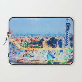 Barcelona, Parc Guell Laptop Sleeve