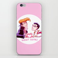 dangan ronpa iPhone & iPod Skins featuring Forget Forget by Blue