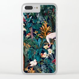 Beautiful Forest III Clear iPhone Case