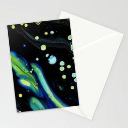 Starry Night Swim Stationery Cards