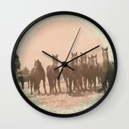 Band of Horses - Peach Wall Clock