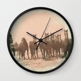 Band of Horses - Peach Wall Clock