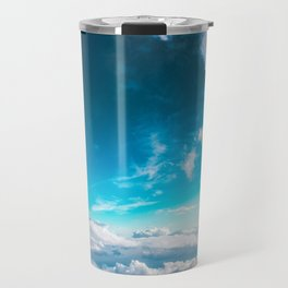 Clouds In The Sky Travel Mug